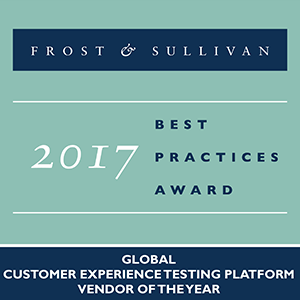 Frost & Sullivan 2017 Awards