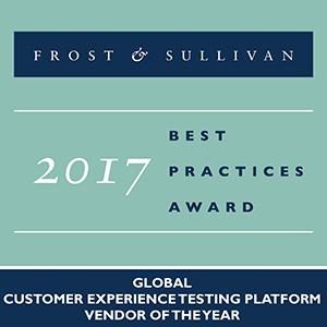 Frost & Sullivan 2017 Awards