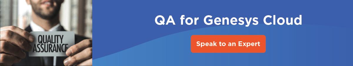 QA for Genesys Cloud